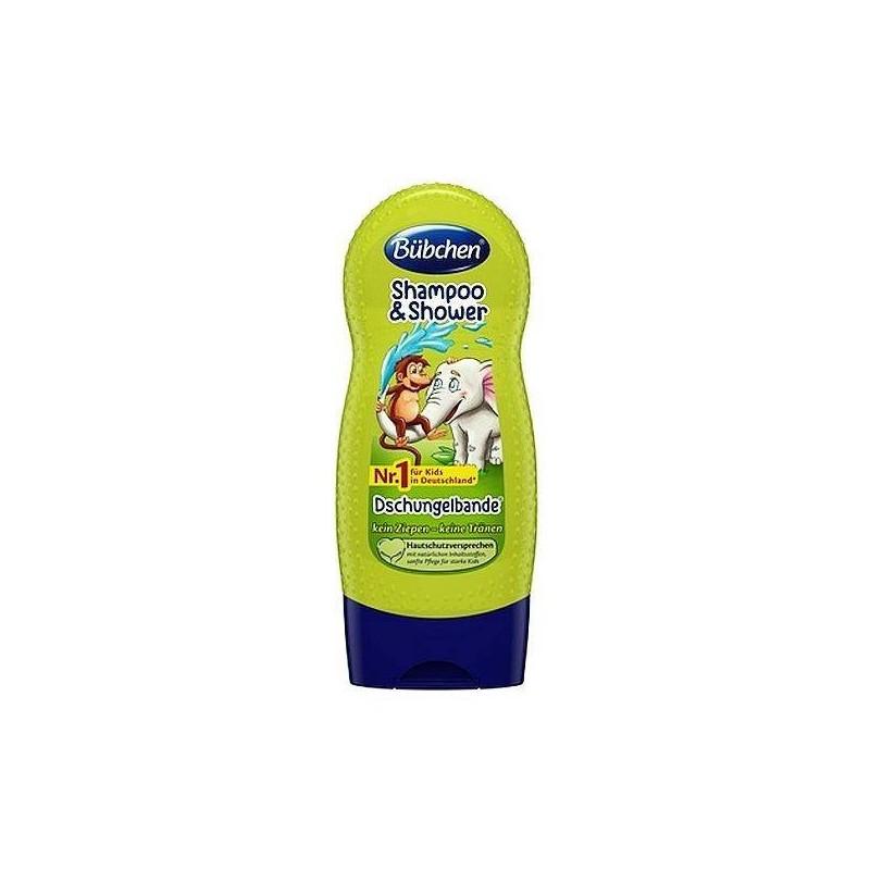 Szampon dla dzieci, brzoskwinia i bawełna - Garnier Natural, 300 ml.