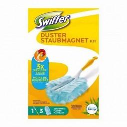 Antystatyczne suche ściereczki, zestaw do mebli z rączką, anti-staub-tucher - Swiffer, 3 szt.