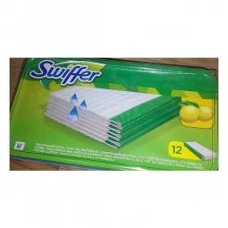 Nasączone ściereczki, sweeper wet, cytrynowe - Swiffer, 12 szt
