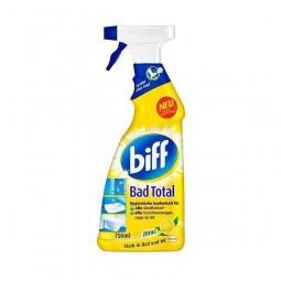 Środek do czyszczenia łazienek, usuwający osady mydła kamienia, bad total - Biff, 900 ml.