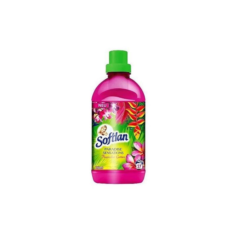 Niemiecki skoncentrwany płyn do płukania, Paradise - Softlan, 750 ml.