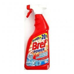 Niemiecki, mocny spray do łazienek, kamień i brud - Bref, 900 ml.