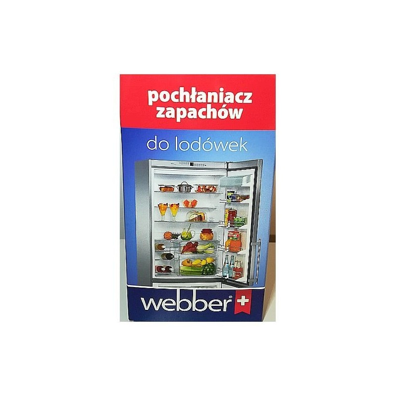 Pochłaniacz zapachów do lodówek, 180 dni - Webber, 1 szt