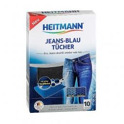 Chusteczki przywracające kolor Jeansu, Jeans-Blau-Tücher - Brauns-Heitmann, 10 szt