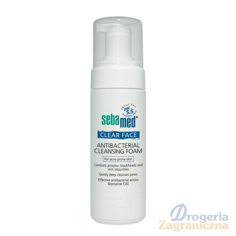 Antybakteryjna pianka oczyszczająca dla skóry trądzikowej - Sebamed, 150 ml