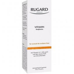 Wmulsja witaminowa do ciała, Vitamin body liotin, niemiecki - Rugard, 200 ml.