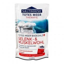 Sól do kąpieli, rozgrzewająca,relaksująca, na stawy i obolałe mięsnie -Salthouse Therapie, 400 g.