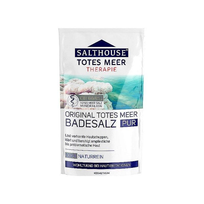 Naturalna sól morska do kąpieli, uspokajająca, relaksująca, niemiecka - Salthouse, Therapie, 400 g.