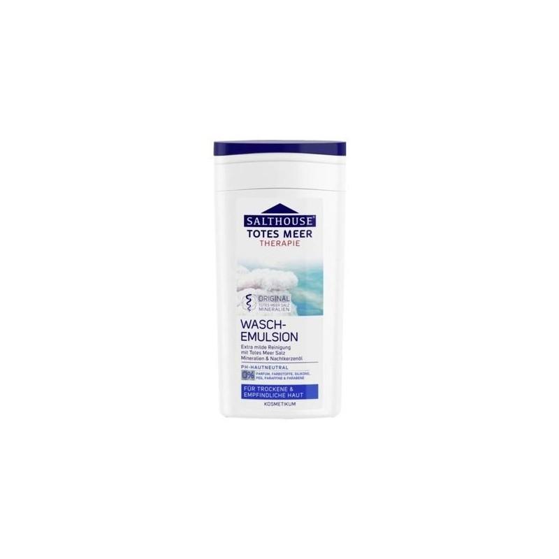 Emulsja do mycia twarzy, skóra problematyczna, sucha, atopowa, z solą morską - Salthouse Therapy, 200 ml.