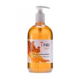 Korzenny, niepowtarzalny żel pod prysznic do włosów i ciała - Thai Spices, 500 ml.