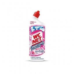 Wybielający żel do toalety, zawiera chlor, extra biel, kwiatowy - WC NET, 700 ml