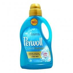 Niemiecki żel do prania tkanin syntetycznych i mieszanych, Care & Refresh - Perwoll, 1,5 litra