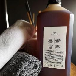 Szampon i żel pod prysznic w jednym, żeń-szeń, opakowanie uzupełniajace - Prija, 3 litry