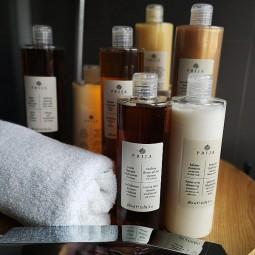 Ekskluzywny, hotelowy komplet kosmetyków Prija, 7 rodzajów - Prija, 7x380 ml.