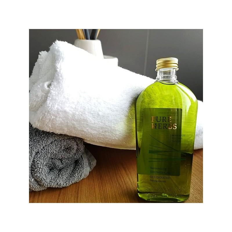 Żel pod prysznic Pure Herbs, rozmaryn, melisa, tymianek, ekskluzywny hotelowy - Ada, 250 ml.