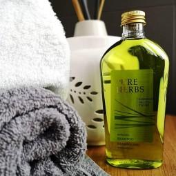 Ziołowy szampon do włosów bez pompki, melisa, tymianek, rozmaryn - Pure Herbs, 250 ml
