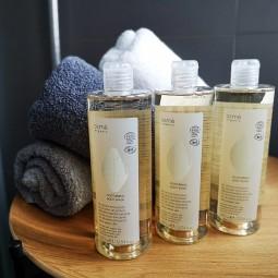 Body Wash, żel pod prysznic bez parabenów, ekologiczne kosmetyki hotelowe w zestawie - Osme, 3x380 ml.