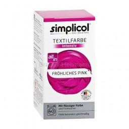 Farba do farbowania odzieży i tkanin, amarantowa - Simplicol, 750 g
