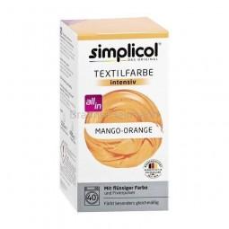 Barwnik do tkanin w płynie, mango z pomarańczą, Simplicol- Brauns-Heitmann, 560 g.