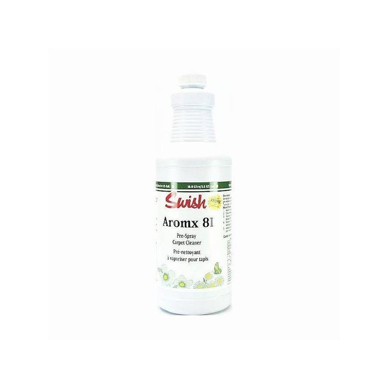 Odplamiacz do dywanów i wykładzin, niweluje zapachy, aromx 81 pre spray - SWISH, 946 ml.