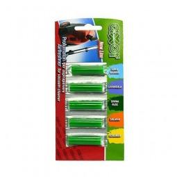Odświeżacz zapachowy do odkurzacza, mix zapachów, Airfreshner - Axor, 1 opak/5 szt.