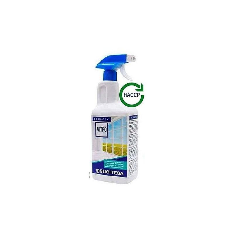 Płyn do mycia szyb z nabłyszczaczem, myje i konserwuje, vitro - SUCITESA, 1 litr