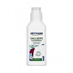 Odplamiacz gallasowy ze szczoteczką, naturalne mydło - Brauns-Heitmann, 250 ml