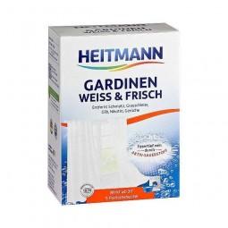 Sól do prania firanek z wybielaczem, usuwa zażółcenia, dodatek do proszku - Brauns-Heitmann, 1 saszetka
