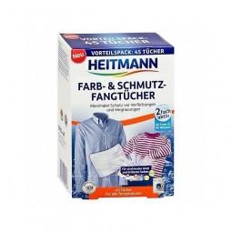 Chusteczki przeciw farbowaniu, przeciw brudowi do pralki, farb&schmutz - Brauns Heitmann 45 szt