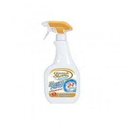 Odplamiacz włoski spray do białych i kolorowych ubrań, aktywny tlen - Spuma di Sciampagna, 500 ml