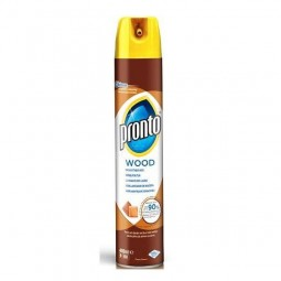 Spray do mebli, chroni i pielęgnuje, wood polish - PRONTO, 400 ml