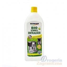 Odkamieniacz w płynie, ekologiczny, ekspresy, czajniki, bio-fast - Brauns-Heitmann, 250 ml.