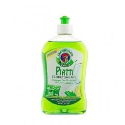 Płyn do mycia naczyń ekologiczny, naturalne olejki, limonka i bazylia - CHANTECLAIR, 500 ml.