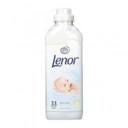Delikatny płyn do płukania, dla dzieci, alergików, biały, superkoncentrat - Lenor niemiecki, 950 ml.
