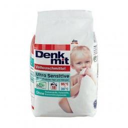 Proszek do prania, wrażliwa skóra, dziecięca, ultra sensitive - Denkmit, 18 prań