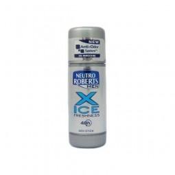 Męski dezodorant w sztyfcie, X-ice, antyzapachowy - Neutro Roberts, 40 ml