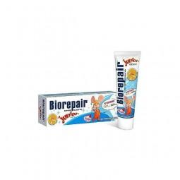 Pasta do zębów dla dzieci 0-13 lat, truskawkowa, junior - BIOREPAIR, 50 ml.