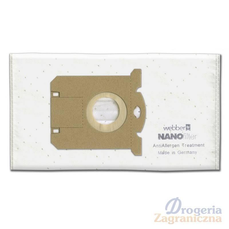 Worki do odkurzacza z mikro filtrem, Electrolux, Philips Uni-Bag - Webber Nano Filter (25)