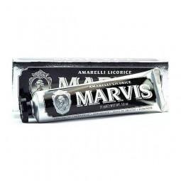 Pasta smakowa do zębów lukrecja, włoska -  MARVIS, 75 ml.