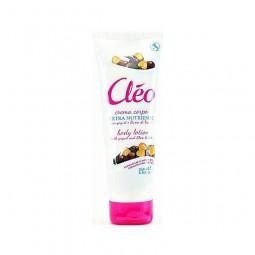 Lotion do ciała z jogurtem i masłem karite, włoski - CLEO, 250 ml.