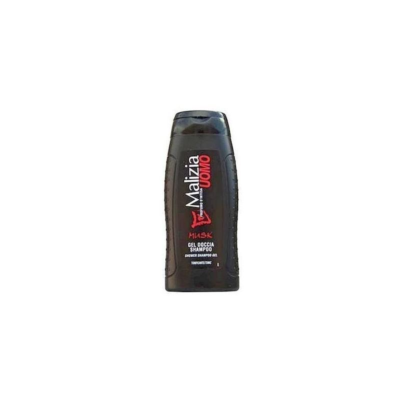 Męski żel pod prysznic, uomo musk, piżmowy - MALIZIA, 250 ml