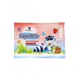 Talk do ciała najmłodszych, dziecięcy, truskawkowy - Saponello, 100 g.