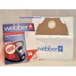 Syntetyczne worki do odkurzacza z filtrem, Electrolux, Volta - Webber (14)