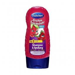 Szampon i odżywka do włosó dziecięcych, nie szczypie w oczy - Bubchen, 230 ml.